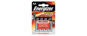 4PILES AA/LR6 ENERGIZER MAX