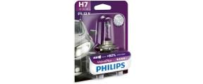 11 1AMP PHILIPS H7 VISION PLUS